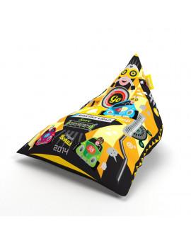 Sitzsäcke Triangle Tag Yellow | Wegett