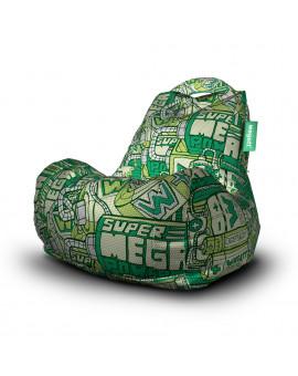 Sedací vak Classic Energy Green | Wegett