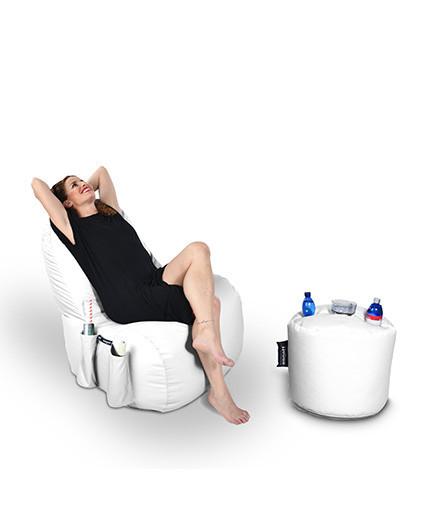 Sitzsäcke SET Classic mit Taschen Taburet Drink | Wegett