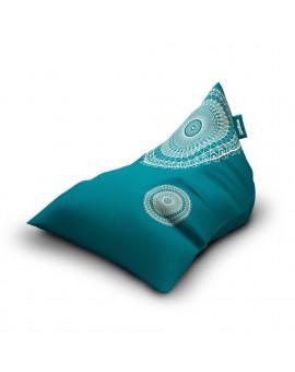 Sitzsäcke Triangle Lace Turquoise | Wegett