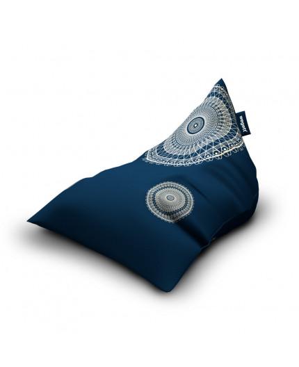 Sitzsäcke Triangle Lace Indigo | Wegett