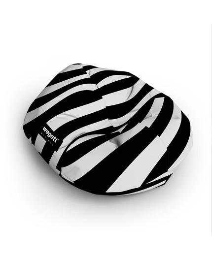 Sedací vak Cocoon XXL Minimal Zebra | Wegett