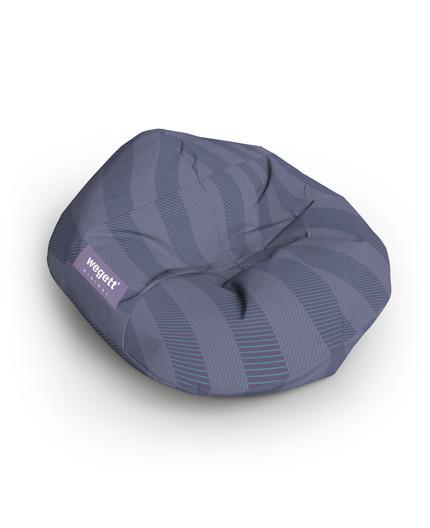 Sedací vak Cocoon XXL Minimal Purple | Wegett