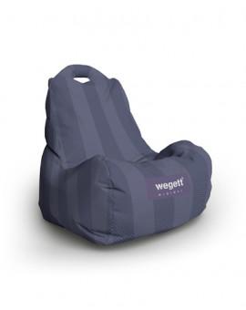 Sedací vak Classic Minimal Purple | Wegett