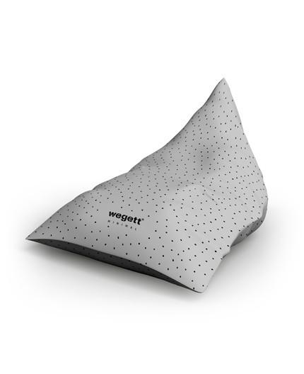 Sedací vak Triangle Minimal Snow | Wegett