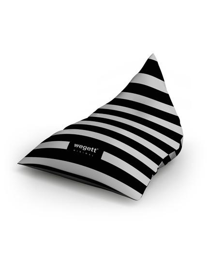 Sitzsäcke Triangle Minimal Zebra | Wegett