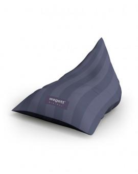 Sedací vak Triangle Minimal Purple | Wegett