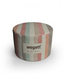 Sedací vak Taburet Minimal Pastels | Wegett