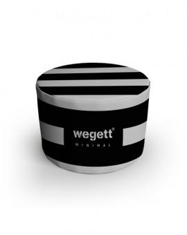 Sedací vak Taburet Minimal Zebra | Wegett