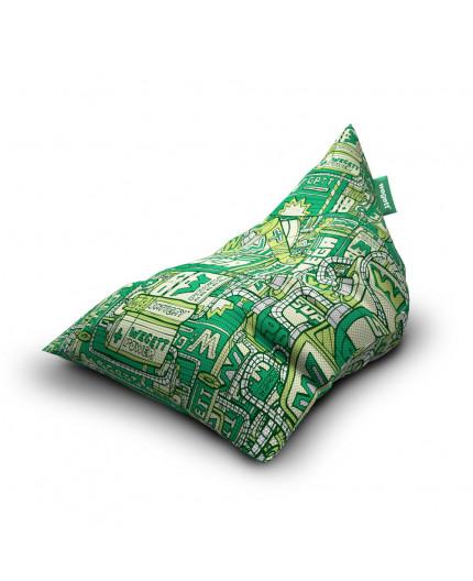 Sitzsäcke Triangle Energy Green | Wegett