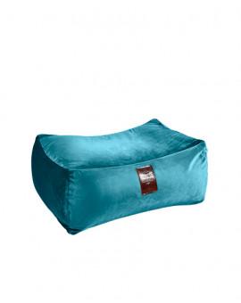 Sedací vak Taburet XXL Luxury Blue | Wegett
