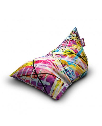 Sitzsäcke Triangle Grafiti 1 | Wegett