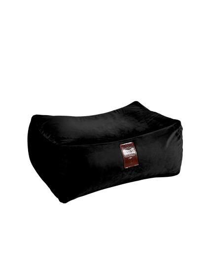 Sedací vak Taburet XXL Luxury Black   Wegett