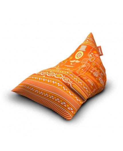 Sedací vak Triangle Urban Orange | Wegett
