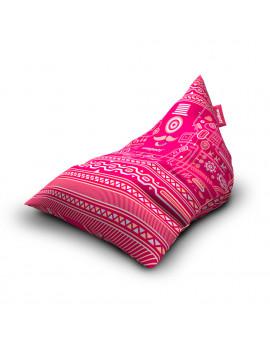 Sedací vak Triangle Urban Pink | Wegett