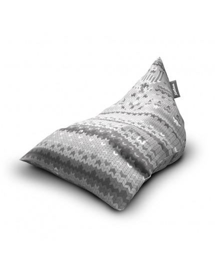 Sitzsäcke Triangle Sweater Grey | Wegett