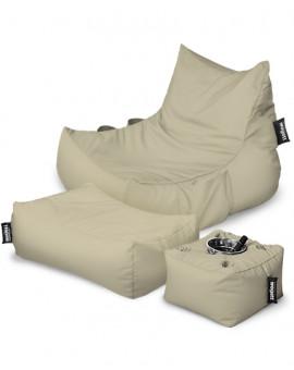 Sitzsäcke SUPER SET Lounge XXL mit Taschen | Wegett
