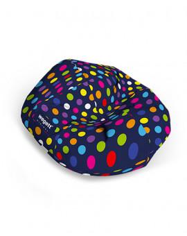 Sedací vak Cocoon XXL Minimal Bubble Blue | Wegett
