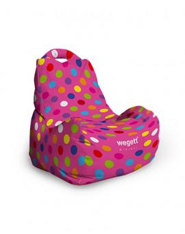 Sedací vak Classic Minimal Bubble Pink | Wegett