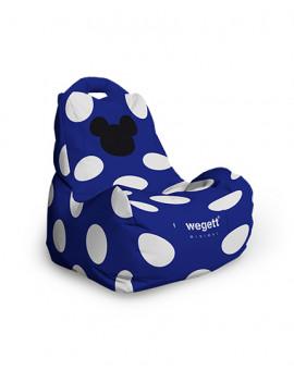 Sedací vak Classic Minimal MM Blue | Wegett