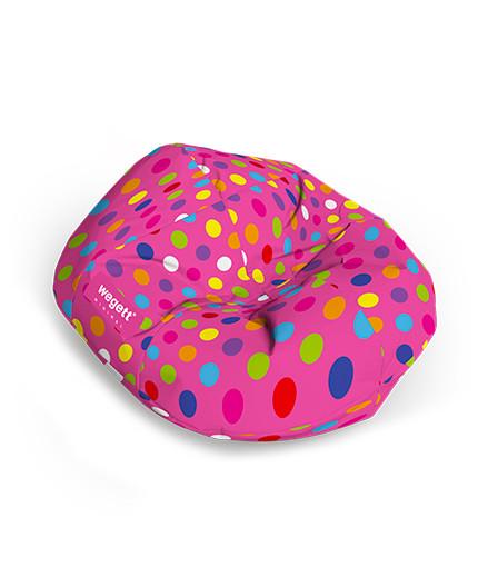 Sedací vak Cocoon Minimal Bubble Pink   Wegett