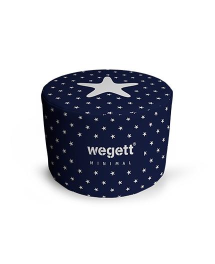 Sedací vak Taburet Minimal Star Blue   Wegett