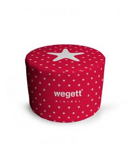 Sedací vak Taburet Minimal Red   Wegett