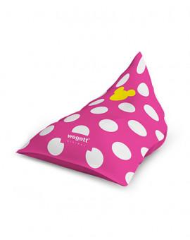 Sedací vak Wegett Triangle Minimal MM Pink