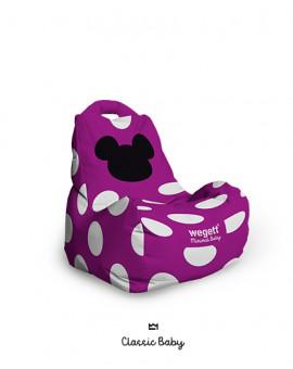Sedací vak BABY Classic MM Purple | Wegett