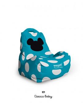 Sedací vak BABY Classic MM Turquoise | Wegett