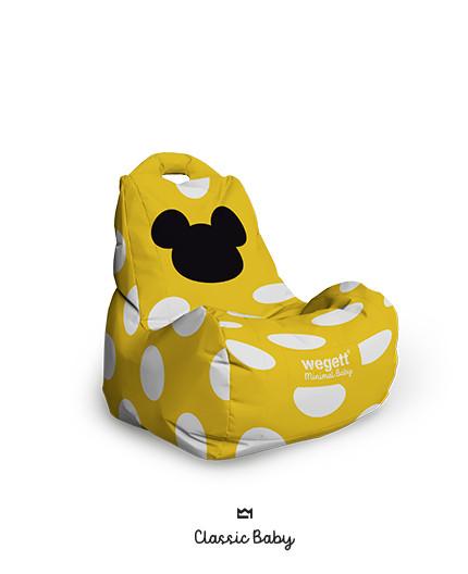 Sedací vak BABY Classic MM Yellow | Wegett
