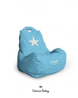 Sedací vak BABY Star Light Blue | Wegett