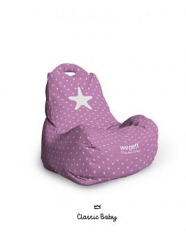 Sedací vak BABY Star Pink | Wegett