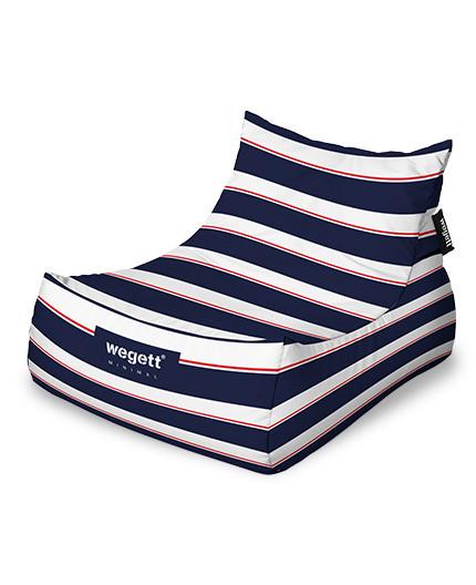 Sedací vak Lounge XXL Minimal Marine | Wegett