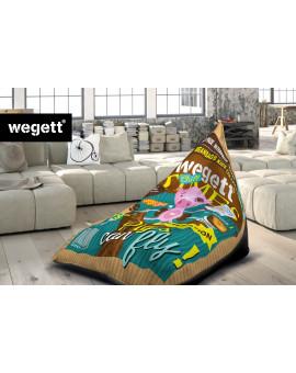 Sedací vak Triangle Piggy | Wegett