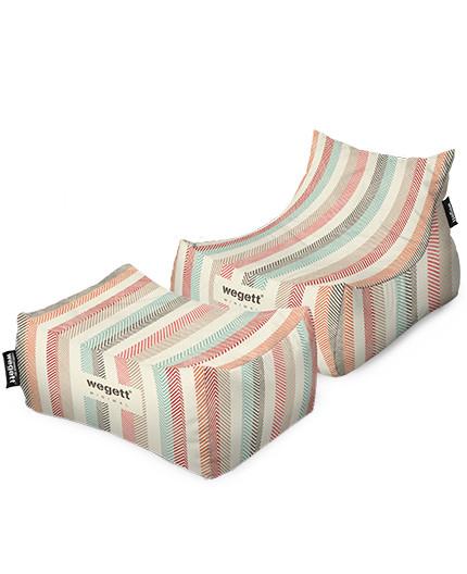 SET Lounge XXL Minimal Pastels | Wegett