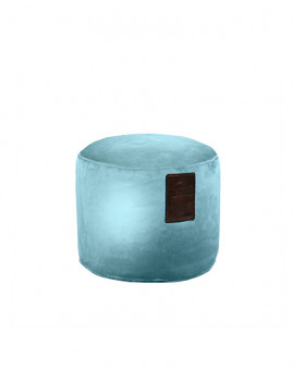 Sedací vak Taburet Luxury Light Blue | Wegett