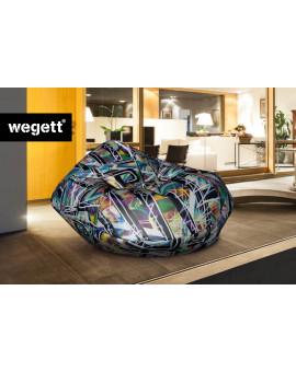 Sedací vak Cocoon XXL Grafiti 3 | Wegett