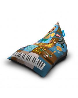 Sitzsäcke Triangle Band Blue | Wegett