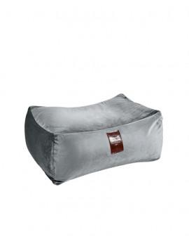Sedací vak Taburet XXL Luxury Silver | Wegett