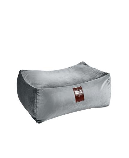 Sedací vak Taburet XXL Luxury Silver   Wegett
