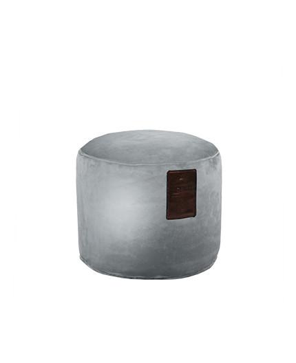 Sedací vak Taburet Luxury Silver | Wegett