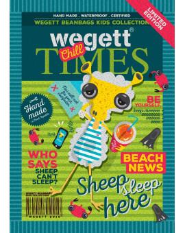 Sedací vak Triangle Sheep | Wegett