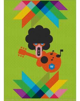 Sedací vak Triangle Guitarist | Wegett