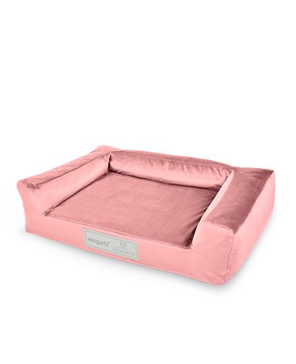 Hundebett Luxury Old Pink