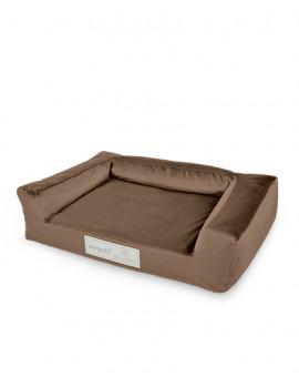 Hundebett Luxury Brown
