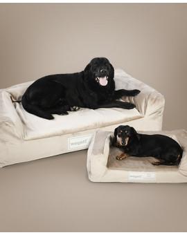 Hundebett Luxury Grey