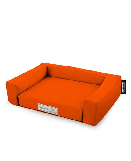 Hundebett Einfarbig Orange