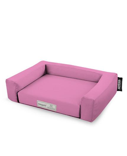 Hundebett Einfarbig Pink