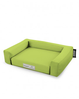 Psí pelíšek Jednobarevný Zelená olivová